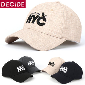 (DECIDE)NYC볼캡